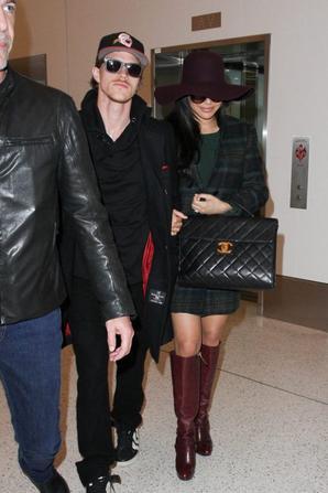 Naya et Ryan hier à LAX :)