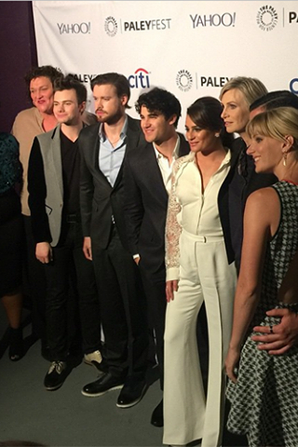 Le Cast réuni sur Red Carpet du Paley Fest hier :)