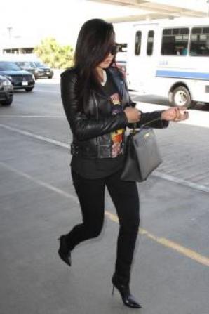 Naya hier à LAX :)