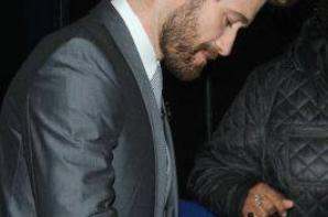 Matthew à la sortie des studios ABC hier :)