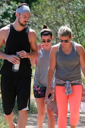 Lea, Matthew et une amie hier :)
