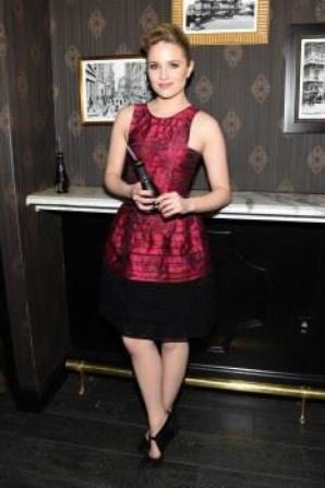 Dianna hier a l'after-party pour la première de 'Tumbledown' :)