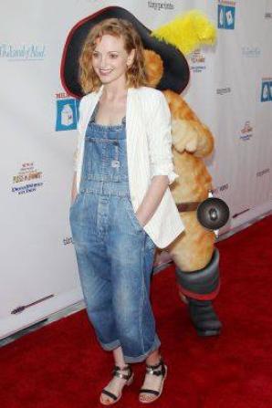 Jayma était hier à la Milk + Bookies 10th Annual Story Time Celebration :)