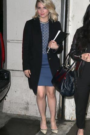 Dianna hier en promo à NY pour Bare :)