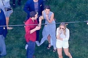 Lea et Matthew hier au mariage de Ian Somerhalder et Nikki Reed :)