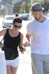 Lea et Matthew en shooping mardi chez West Elm :)