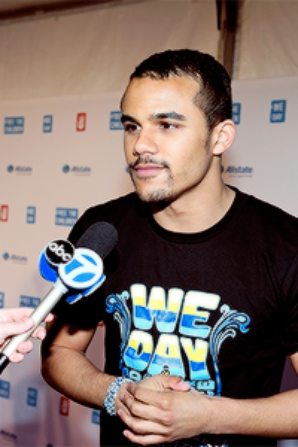 Jacob était jeudi à l'événement We Day Chicago :)