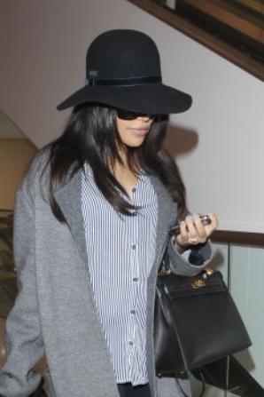 Naya à l'aéroport hier :)
