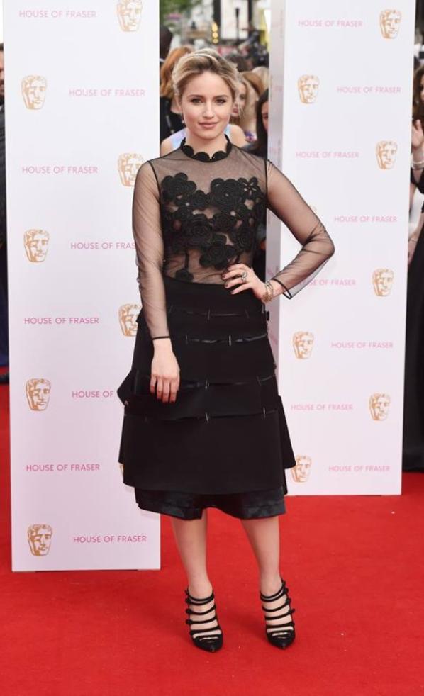 Dianna était hier à l'évènement House of Fraser British Academy Television Awards au Theatre Royal :)
