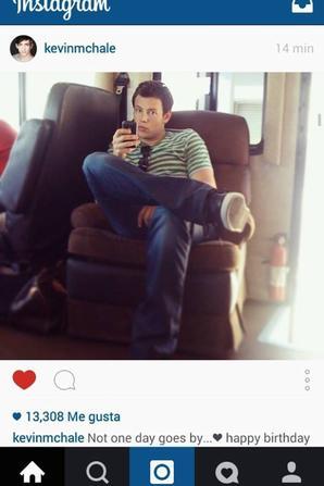 Twitte de Lea et instagram de Kevin pour l'anniversaire de Cory :'( <3