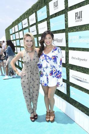 Becca et Jenna aux OCRF's 2nd Annual Super Saturday LA (17/05/15)