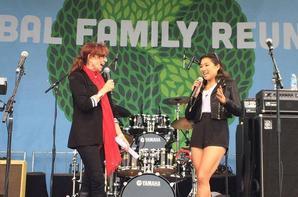 Jenna était à l'évènement Global Family Reunion :)
