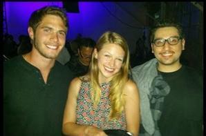 Blake et Melissa étaient la semaine dernière à la représentation de #AmericanIdiotLA :)