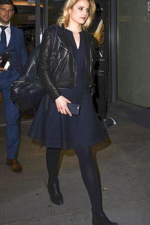 Dianna a la sortie de McQueen vendredi soir (21/06/15)