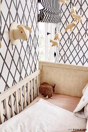 Naya nous ouvre les portes de la chambre de son futur baby à My Domaine.:)