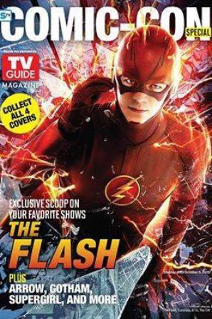 Melissa et Grant en couverture de TV Guide pour l'édition spéciale pour le comic-con :)
