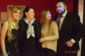 mes 50 ans avec mes enfants ,ma famille, mes amis , mes colegues du rsca
