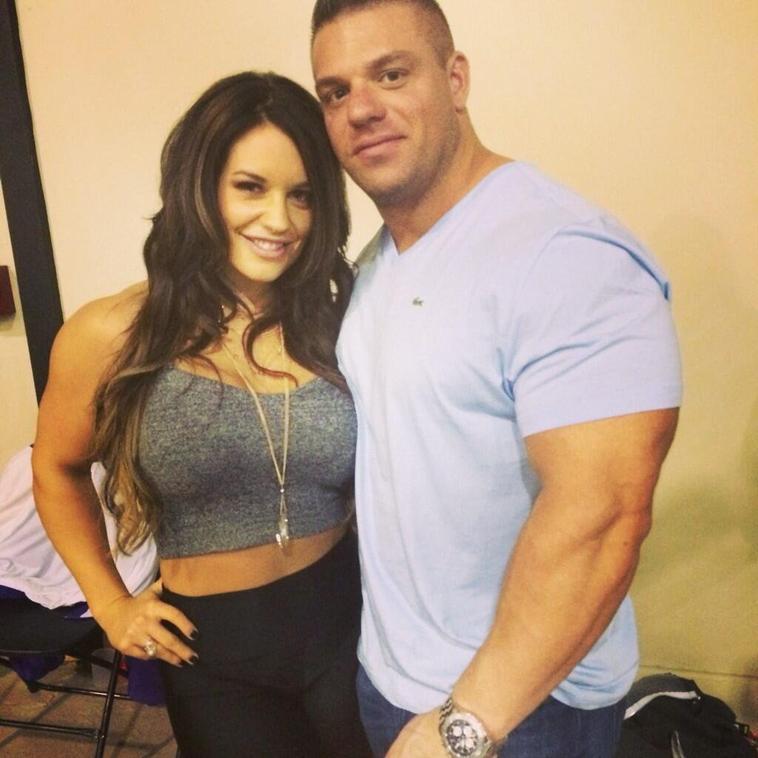 Kaitlyn et PJ Braun ( son fiancé )