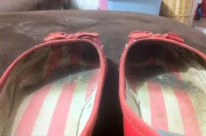 Mes petites ballerines USA rouge