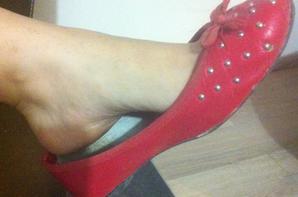 Mes petites ballerines USA rouge