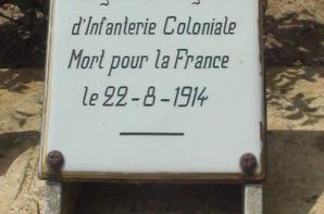cimetière militaire Français 14-18  orée de la forét Rossignol
