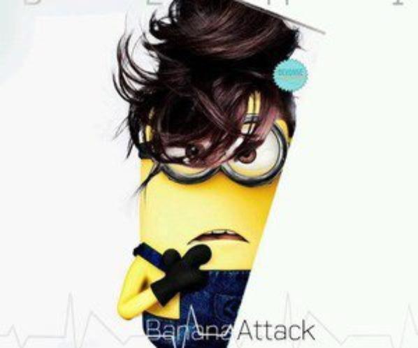 Banana attack !!!!!