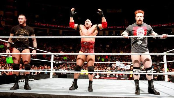 Randy Orton, Ryback & Sheamus VS The Shield