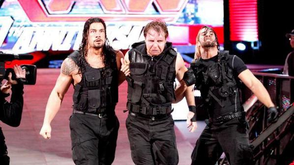 Randy Orton, Ryback & Sheamus VS The Shield