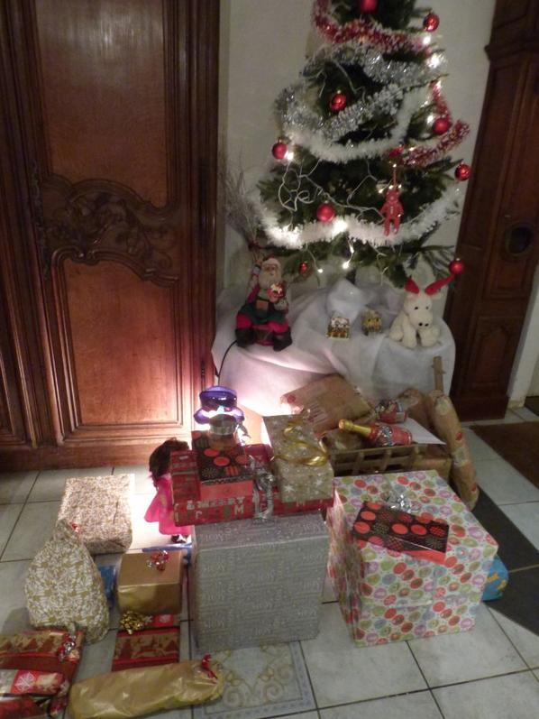 voici les cadeaux