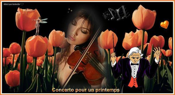 Concerto pour un printemps