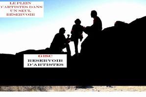 l'Association Gisc /Reservoir d'Artistes  Vous présentent leurs meilleurs v½ux  pour 2015.
