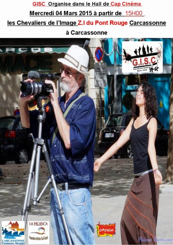 Mercredi 04 Mars 2015 15H00 A partir de 15H00 hall Cap Cinéma Espace A Tout Age on Partage .Présentation du projet Rando Photos la Bastide ,le Canal du midi ,la Cité, …. !