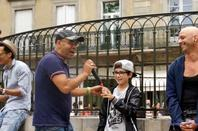 """Jyoti un artistes hors du commun et qui soutien le GISC /groupe intervenant spectacle concert """" du reservoir d'artistes  de Carcassonne ......."""