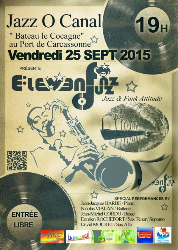 groupe de jazz :funk le VENDREDI 25 SEPTEMBRE 2015 :19H00