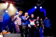 Tout ensemble au festival des jeunes slameurs  contre Alzheimer tu n'auras pas mon c½ur avec les jeunes de l'ITEP de Mille Grand .  06/07 Avril 2016 •au chapeau rouge à Carcassonne • à l'occasion du  09° forum GISC contre Alzheimer