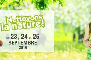L'association gisc organise  L'opération « Nettoyons la nature » Initiée par E. Leclerc, Samedi 24 Septembre 2016 à partir de 9H00