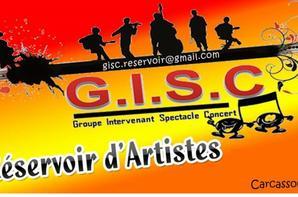 Toute l'équipe de l'Association  GISC  RESERVOIR D'ARTISTES