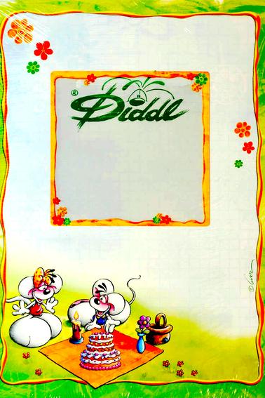 """Feuilles Diddl - Collection """"Évolutives"""" - Format A5 (version compléte) + """"Dorée"""" - Format A4"""
