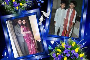Une bénédiction et la confiance Madhuri DIXIT NENE