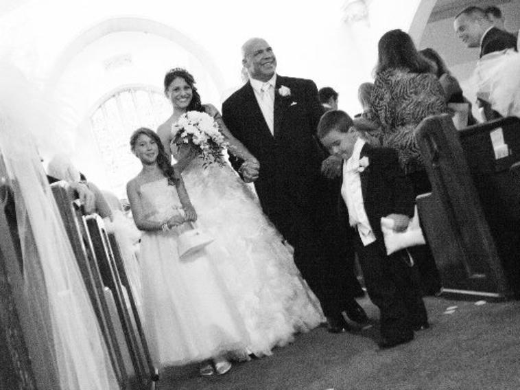 kurt angle a son mariage