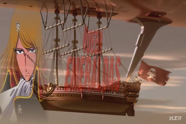 Albator Femme Pirate mes creation photo montage sur la femme pirate grande amie d'albator