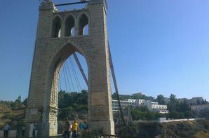 une visit à mon pays  c'est la ville de constantine