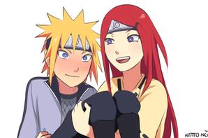 minato and kushina /kushina  and minato