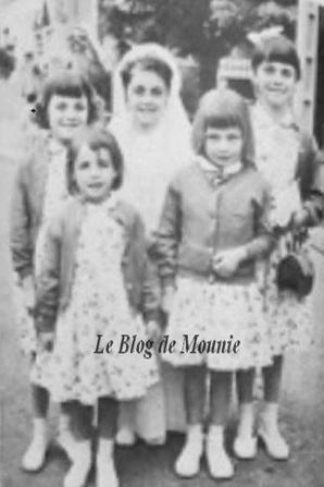 Mireille petite fille avec ses soeurs