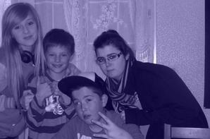 moi et des pote et ma soeur et mon neveu