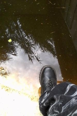Auto port...pied !!! Je marche sur l'eau !!!