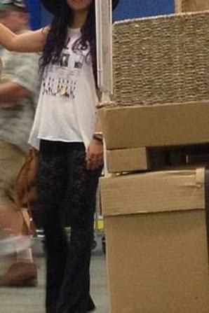 Vanessa Hudgens Shopping at IKEA (June 25)