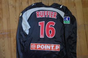 Maillot porté lors d'un match de coupe de la ligue 2006-2007