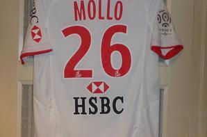 Maillot extérieur porté lors d'un match de championnat 2009-2010