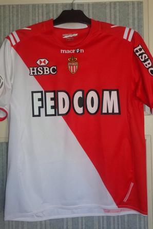 Maillot domicile porté en championnat 2010-2011